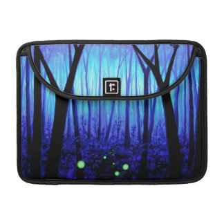 Fantasy Blue Forest MacBook Pro Sleeve