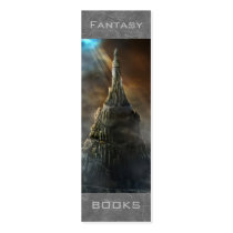 fantasy, tower, castle, architecture, art, artwork, illustration, motivational, library, houk, super, bookmark, super bookmark, reading, powers, read, books, literature, knowledge, learn, confidence, excellence, school, back to school, sweet gifts, teach, gifts for teachers, bookmarks, librarian, gifts, stocking stuffers, profile cards, Business Card with custom graphic design