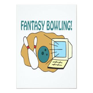 Fantasy Bowling Card
