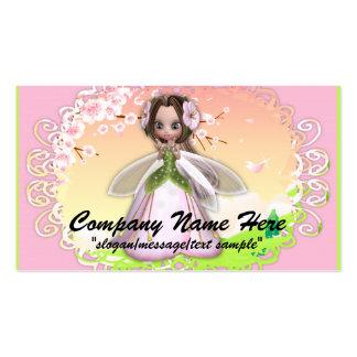 Fantasy Business Card :: Cherry Blossom Fairy