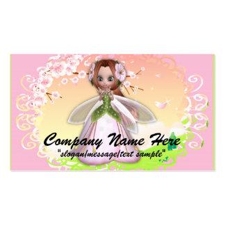 Fantasy Business Card :: Cherry Blossom Fairy 3