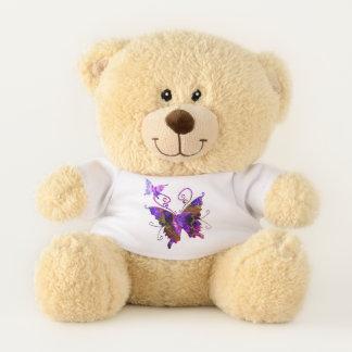 Fantasy Butterflies Teddy Bear