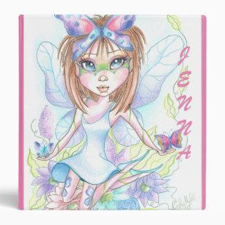 Fantasy Butterfly Baby 3 Ring Binder