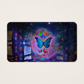 Fantasy Butterfly Business Card
