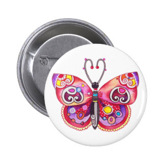 Fantasy Butterfly Button