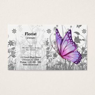 Fantasy Butterfly * choose background color Business Card