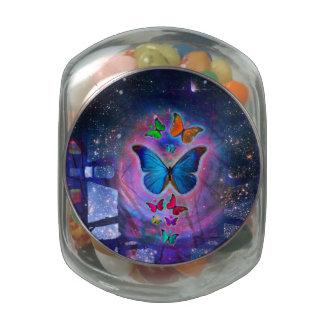 Fantasy Butterfly Jelly Belly Candy Jar