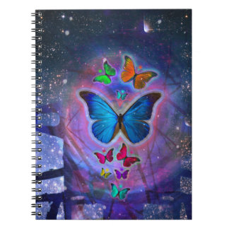 Fantasy Butterfly Notebook