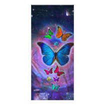 Fantasy Butterfly Rack Card