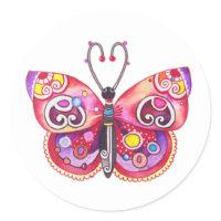 Fantasy Butterfly Sticker sticker