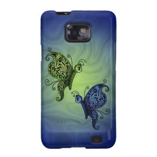 Fantasy Butterflys Galaxy SII Cover