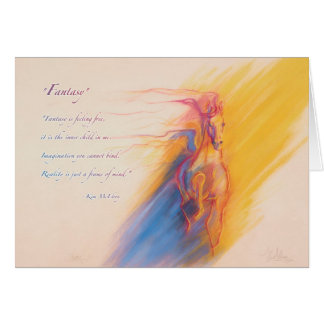 Fantasy by Kim McElroy Greeting Card