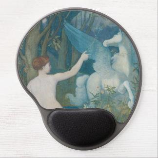 Fantasy by Pierre Puvis de Chavannes Gel Mouse Pads