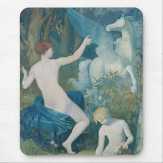 Fantasy by Pierre Puvis de Chavannes Mouse Pad