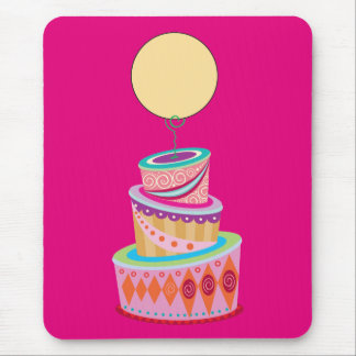 Fantasy Cake Template Mouse Pad