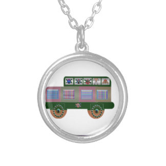 fantasy car gifts round pendant necklace