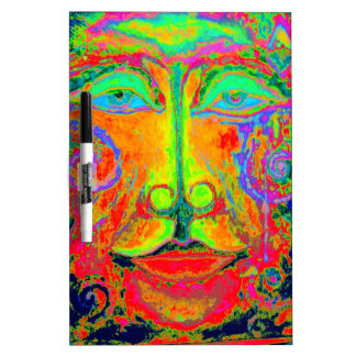 Fantasy Carnaval Party Face by Sharles Dry-Erase Board
