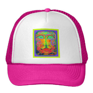 Fantasy Carnaval Party Face by Sharles Trucker Hat