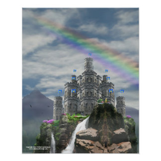Fantasy Castle 16x20 Poster