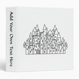 Fantasy Castle Binder