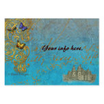 Fantasy Castle Business Cards/ Table Cards Large Business Card