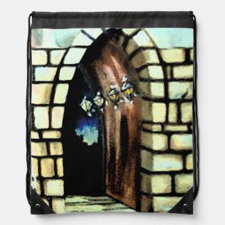 Fantasy Castle Doorway Door Commuter Backpack 2