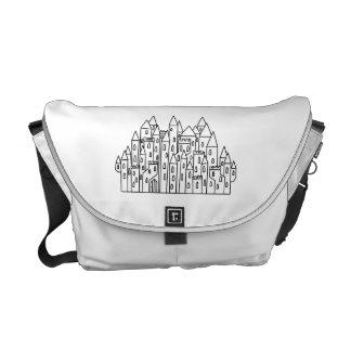 Fantasy Castle Messenger Bags