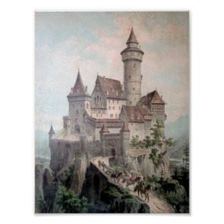 Fantasy Castle Poster