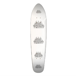 Fantasy Castle Skate Board Decks