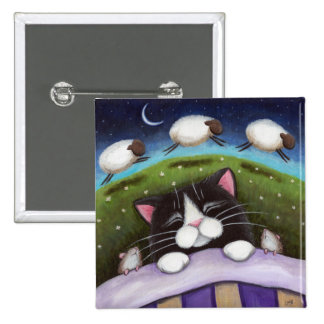 Fantasy Cat and Mouse Art Button