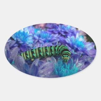 Fantasy Caterpillar Sticker