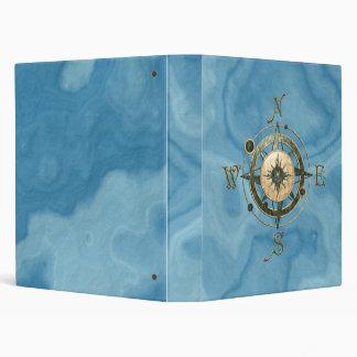 Fantasy (Celtic) Compass Design 3 Ring Binder
