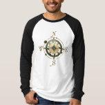 Fantasy (Celtic) Compass Design T-Shirt