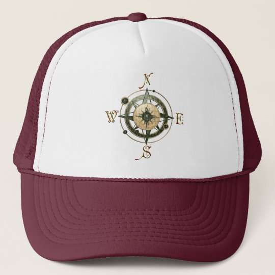 Fantasy (Celtic) Compass Design Trucker Hat