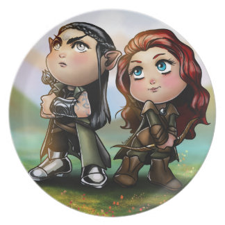 fantasy character plate
