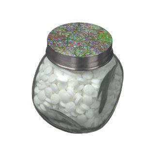 fantasy city maps 2 (C) Glass Candy Jars
