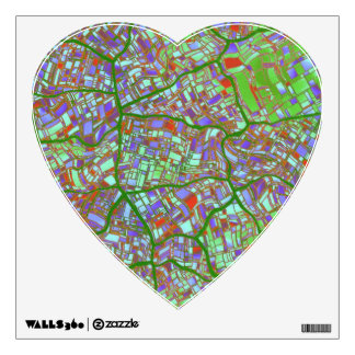 fantasy city maps 2 (C) Wall Sticker