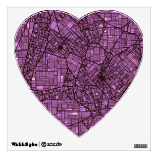 fantasy city maps 4 (C) Wall Sticker