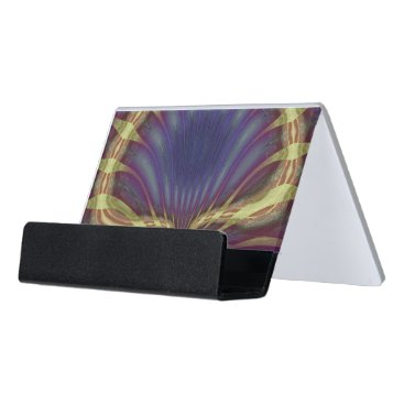 Professional Business Fantasy Clam Desk Business Card Holder