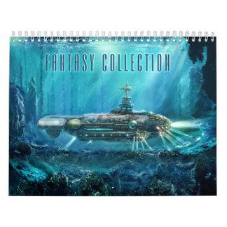 Fantasy Collection Calendar