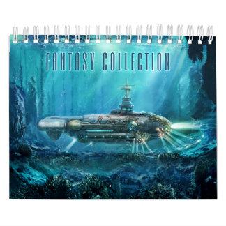 Fantasy Collection Small Calendar