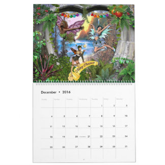 Fantasy collections calendar