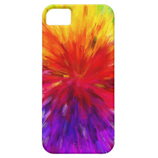 Fantasy Color Background Abstract Pattern iPhone SE/5/5s Case