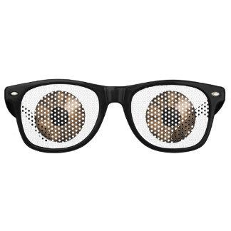 Fantasy Color Eyes Brown Retro Sunglasses