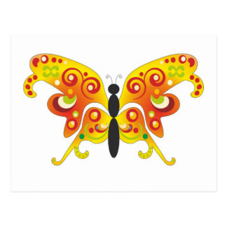 Fantasy Colorfull Butterfly by Bestpeople Postcard