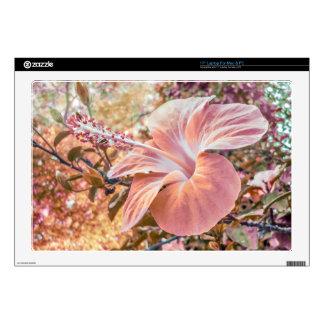 Fantasy Colors Hibiscus Flower Digital Photography Laptop Skins