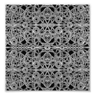 Fantasy Complex Ornament Photo Print