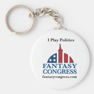 Fantasy Congress Key Chain