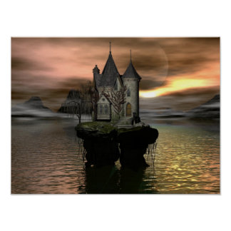 Fantasy Cottage Posters