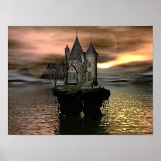 Fantasy Cottage Poster